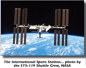 ISS photo