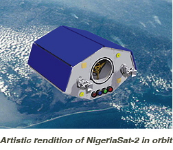NigeriaSat-2 in orbit