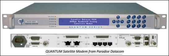 Paradise Quantum modem