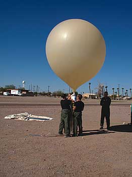 Near Space Space Data Ballon