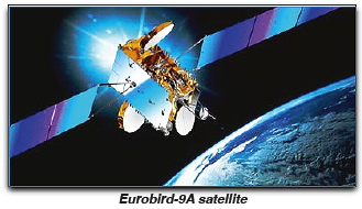 Eurobird-9A satellite