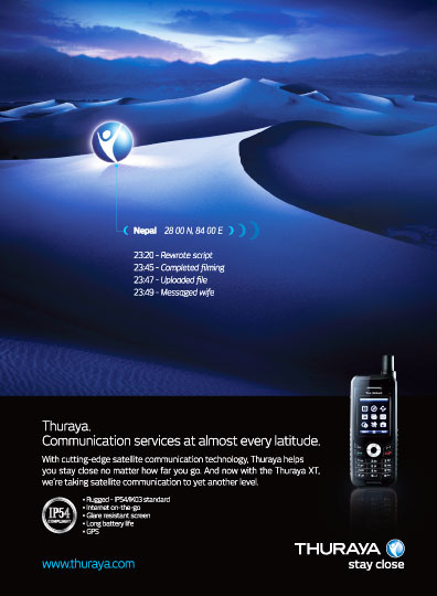 Thuraya Ad SM JAN10