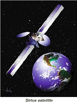 Sirius satellite