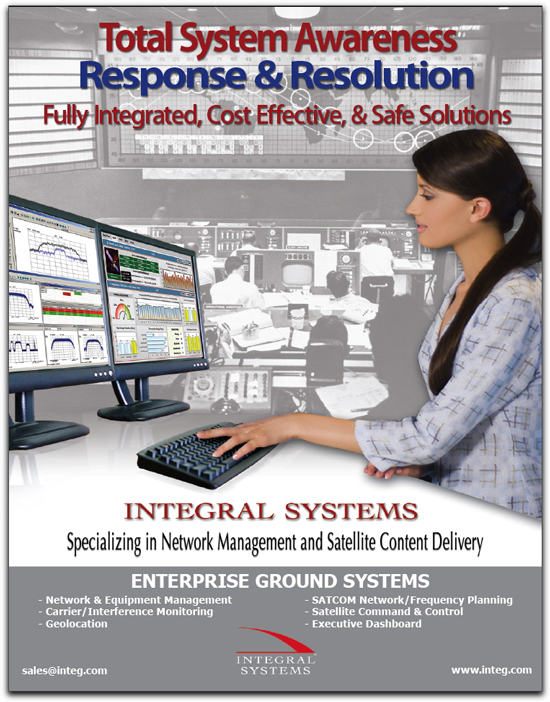 Integral Systems Ad SM Sep09