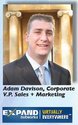 Adam Davison + logo