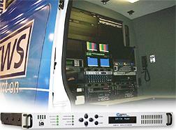 Comtech CDM 710 in truck