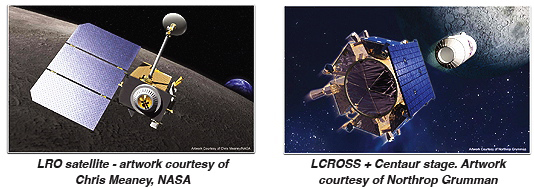 LRO/LCROSS images