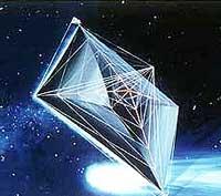 artist's solar sail