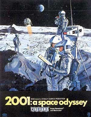 2001 Space Odeyssy Poster
