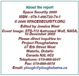 Space Sec info