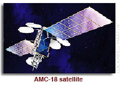 AMC-18 satellite w caption