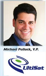 Pollack + UltiSat logo