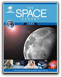 Space Foundation's Space Report cover