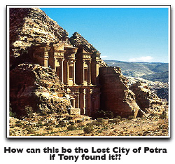 Lost City of Petra web