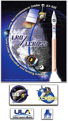 LOR/LCROSS poster + logos