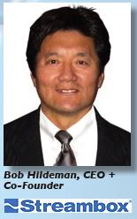 Hildeman + Streambox logo